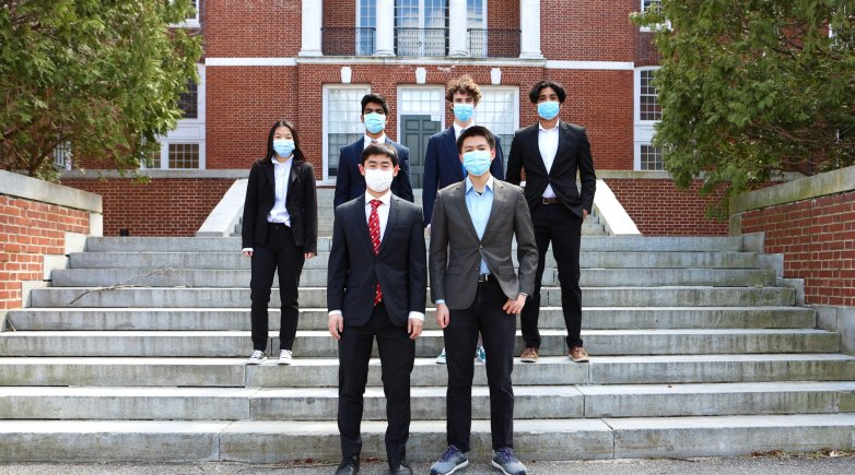 Exeter debaters