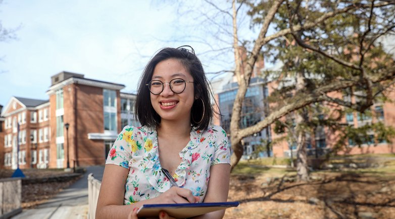 Exeter student Mai Hoang