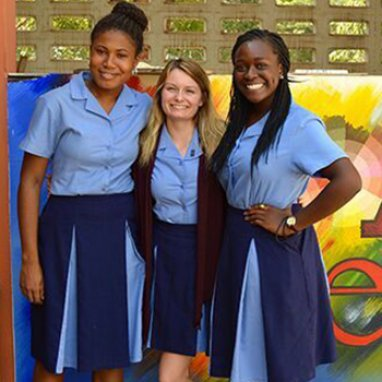 Exeter students in Ghana